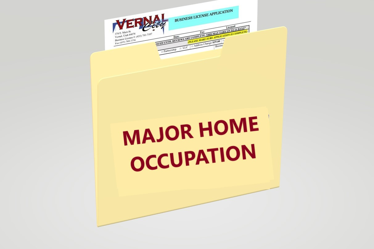 MAJOR HOME OCCUPTATION Opens in new window